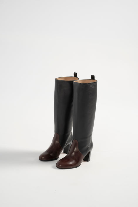 Maryam Nassir Zadeh-Maryam Nassir Zadeh Ivy Boot-Maryam Nassir Zadeh leather boot-tall leather boot-Idun-St. Paul