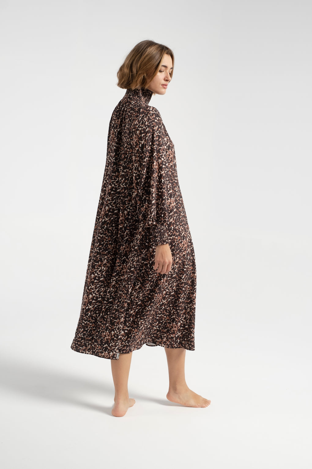 No.6-No. 6-No.6 Reid Dress-No.6 dress-long sleeve dress-animal print dress-Idun-St. Paul