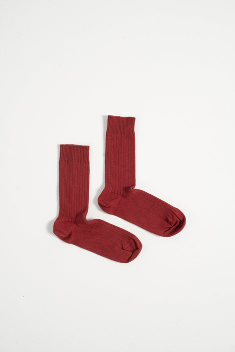 Baserange-baserange socks-baserange rib ankle socks-baserange red socks-red ankle socks-Idun-St. Paul