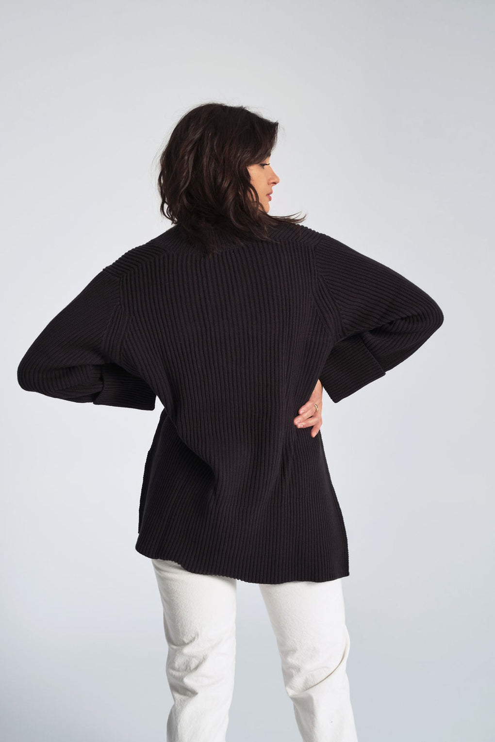 Moon Sweater in Black