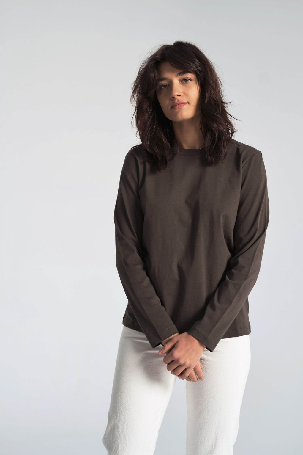 Gro Standard Cotton Long-Sleeved Tee