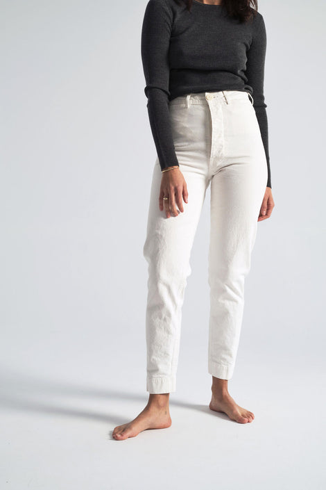 Ranger Pants in Salt White