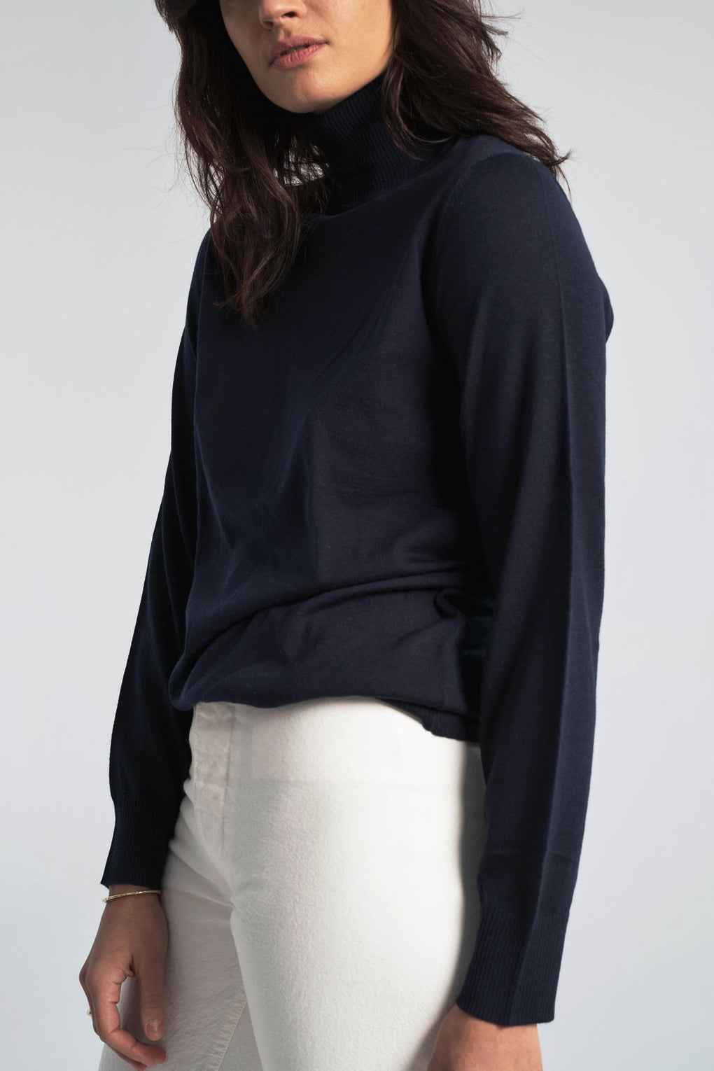 Anja Marino Sweater in Dark Navy
