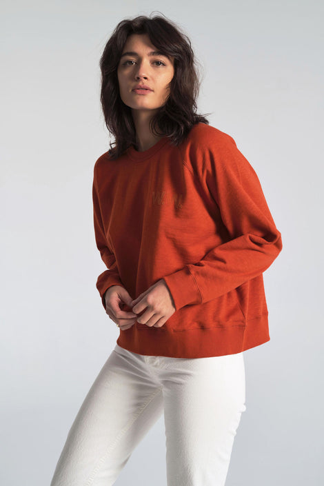 Jerri Sweatshirt in Rust