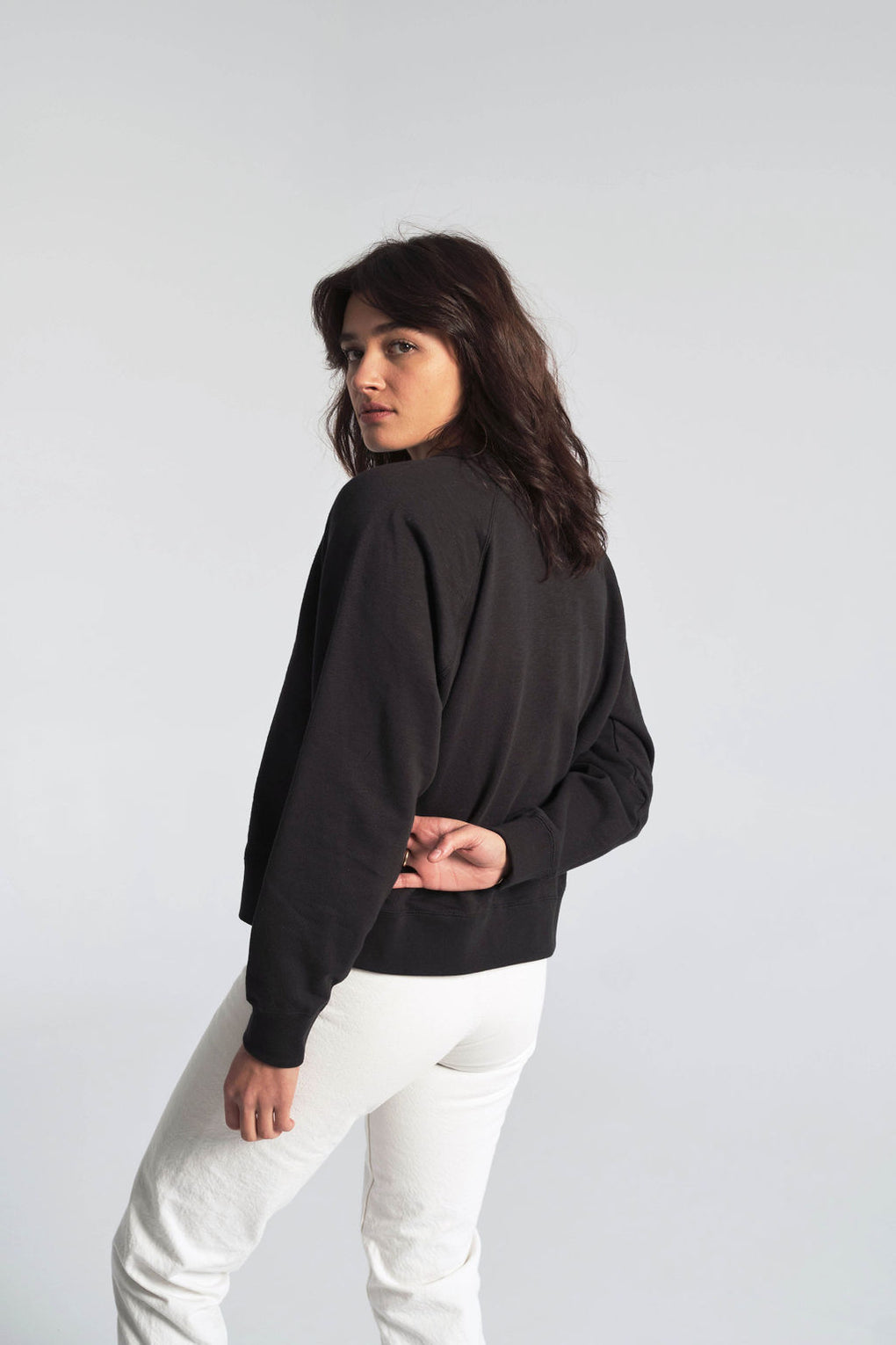 Jerri Sweatshirt in Black