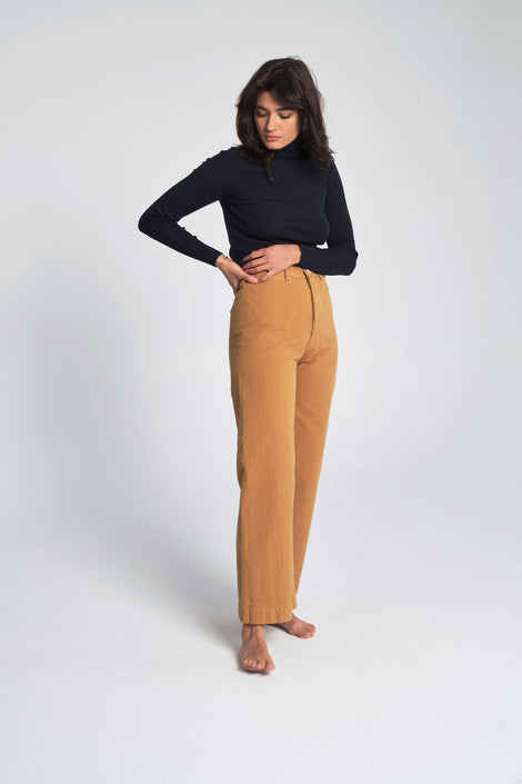 Sailor Pants in Wheat
