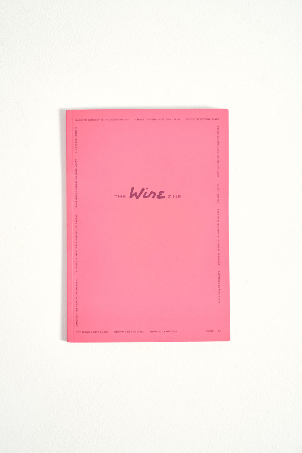 The Wine Zine 03 - natural wine magazine - Idun - St. Paul