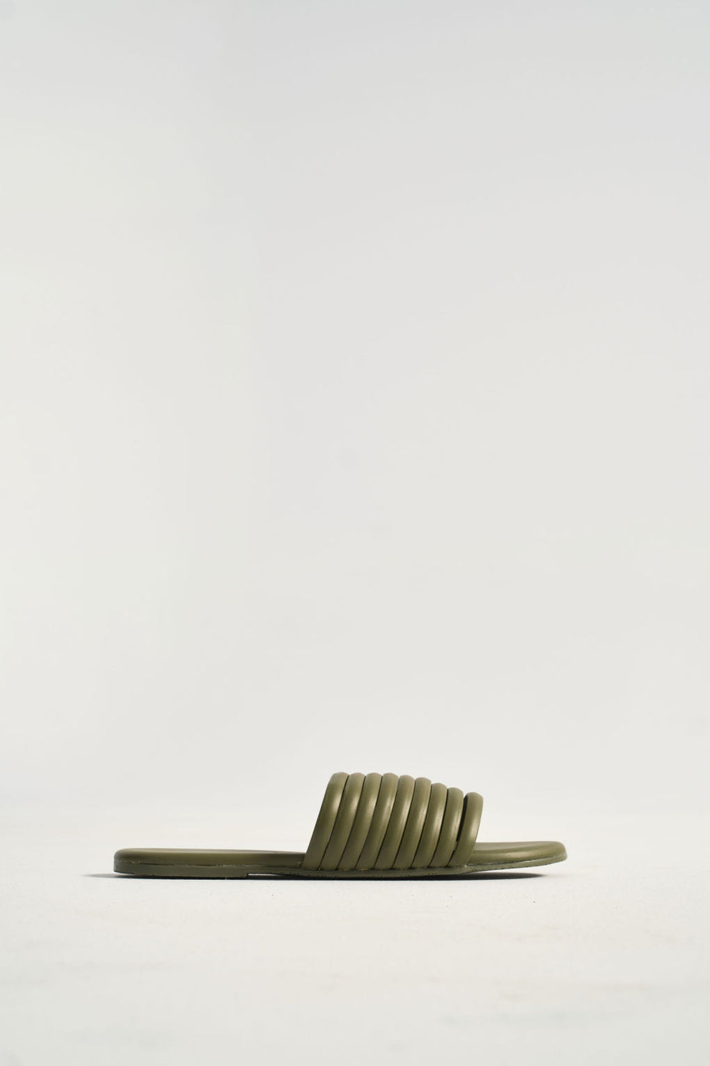 Tkees Caro Slides in Olive - Idun - St. Paul