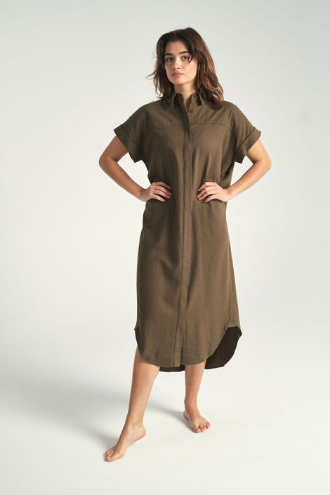 7115 by Szeki-Idun-St. Paul-signature maxi shirtdress