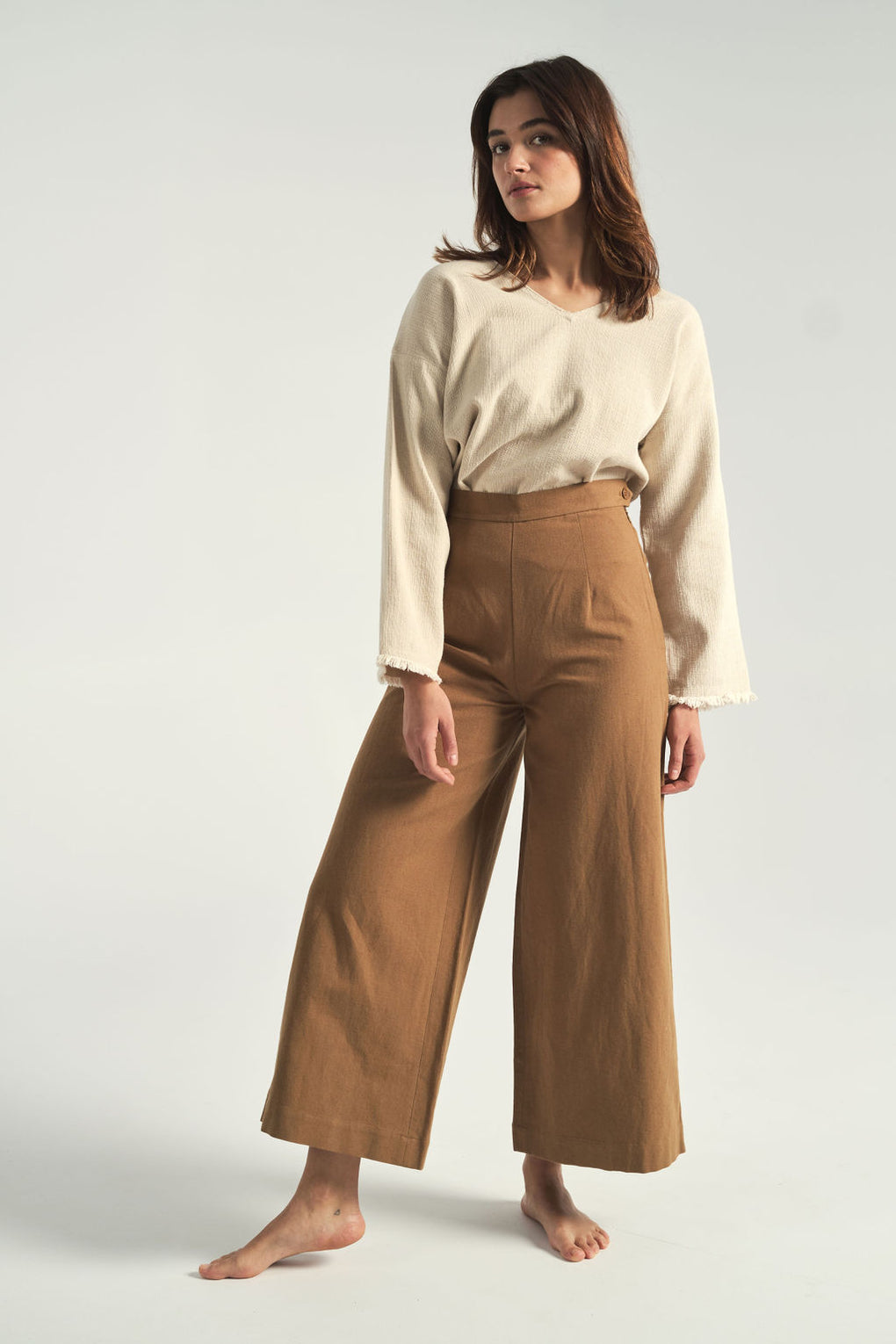 Wide-leg pants-7115 by Szeki-wide-legged pants-sailor pants-Idun-St.Paul