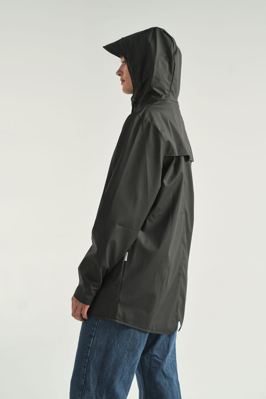 Rain Jacket in Black