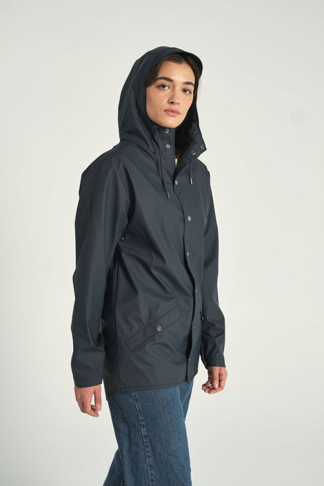 Rain Jacket in Blue