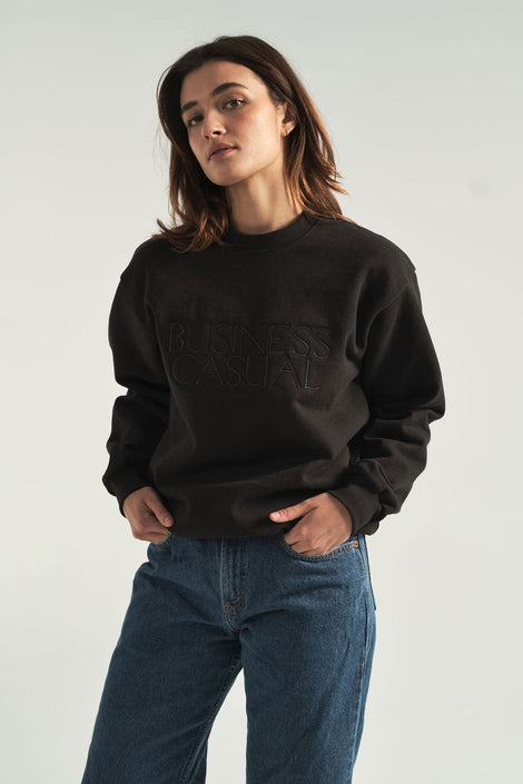 Business Casual sweatshirt-Idun-St.Paul-Forage Modern Workshop-Golden Rule-Golden Age-Hazel & Rose