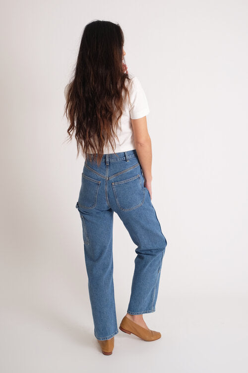 Jesse Kamm-denim-handy pants-japanese denim-Idun-St.Paul-Kamm pants