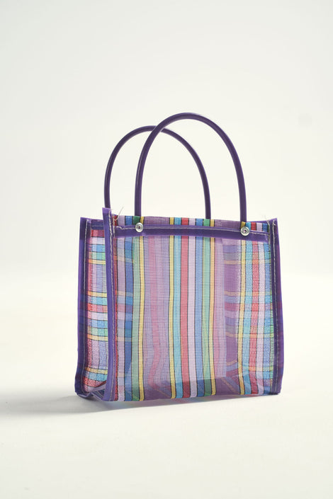 Bolsa-Mexican bolsa-tote-purple tote-grocery bag-Idun-St. Paul