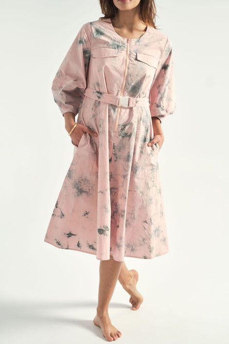 Rachel Antonoff-Megan dress-tent dress-pink dress-Idun-St. Paul