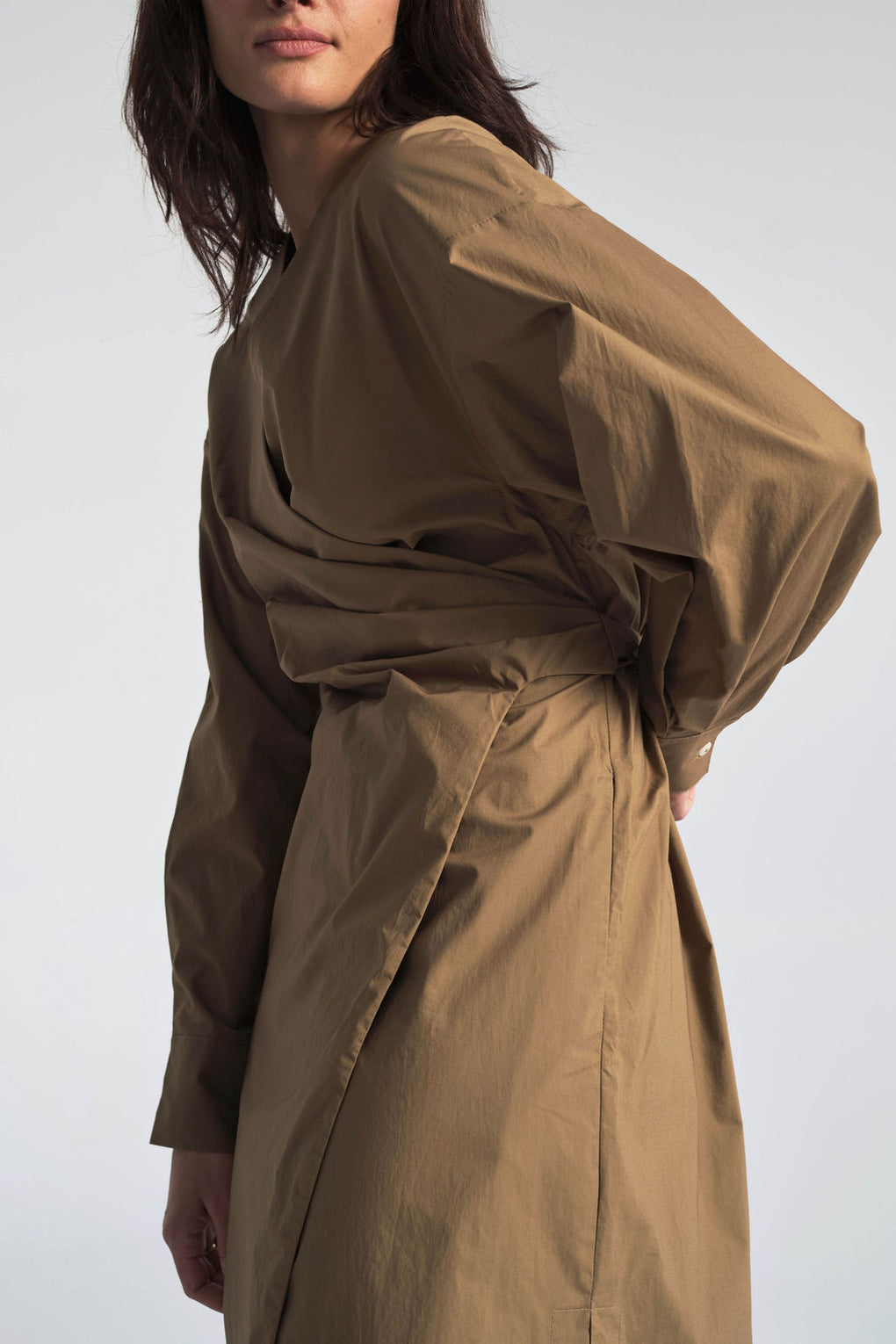 Shaina Mote-Idun-Saint Paul-Independent Shop-Hira Dress-Wrap Dress