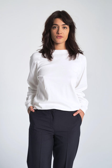 Organic Interlock Cotton Sweatshirt