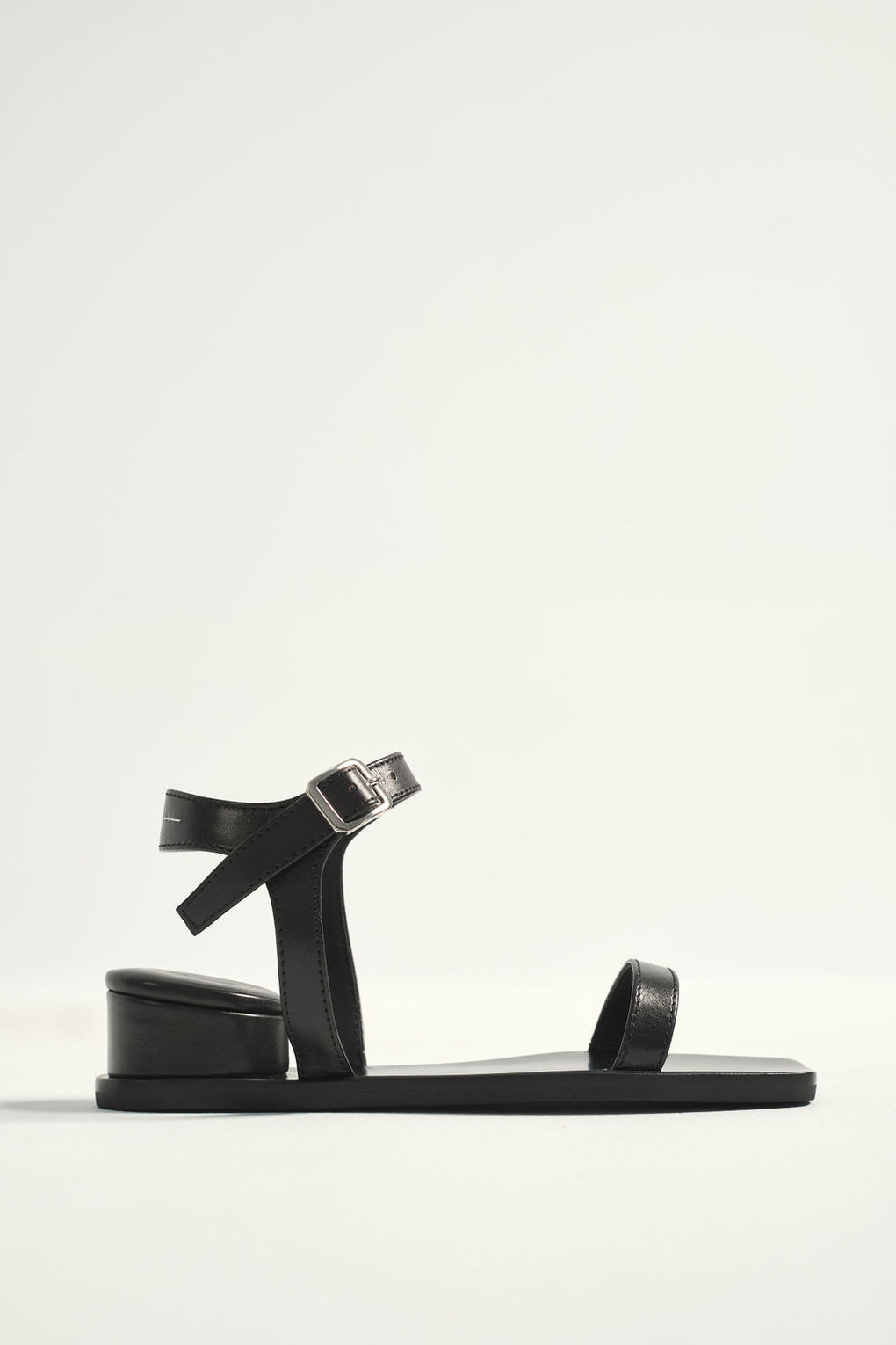 MM6-Maison Margiela-black strap sandal-Idun-St. Paul-stacked heel