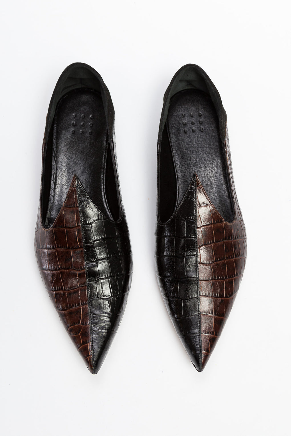 Lewitt Faux Croc Slipper