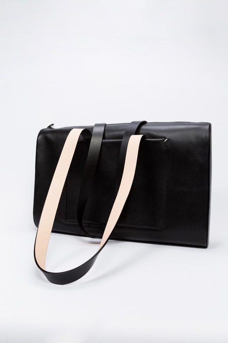 Building Block Weekday bag-black briefcase bag-Building Block-Idun-St. Paul-work bag