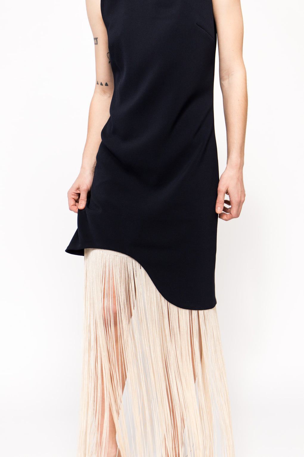 Curved Hem Dress