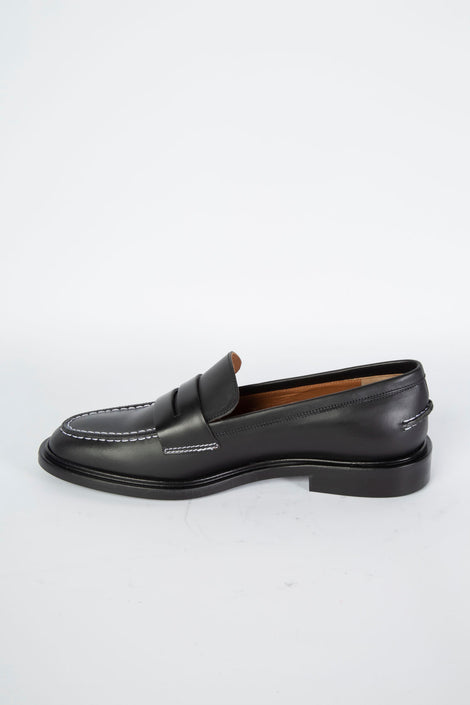 ATP Atelier Monti Loafer-Idun-Saint Paul-Black Loafers-Leather Loafers-=