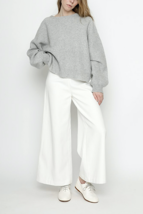 7115 by Szeki-7115 by Szeki Poet Sleeves Sweater-grey sweater-7115 by Szeki sweater-Idun-St. Paul