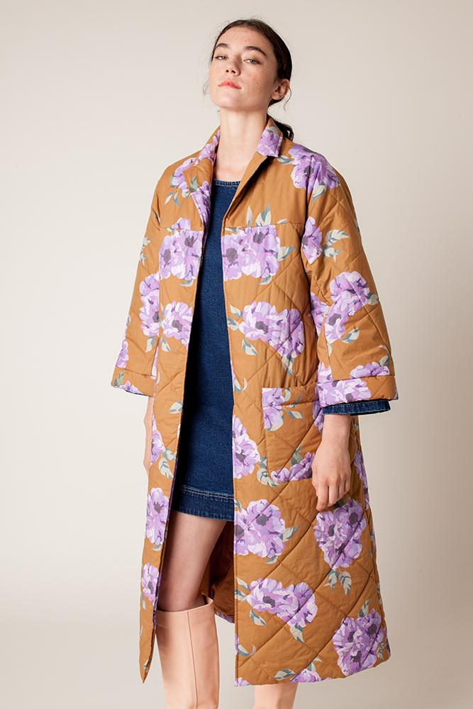 Louie Quilted Robe