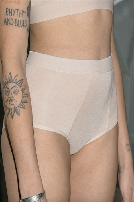 Baserange nude boypants underwear-Idun-St. Paul-high waisted underwear