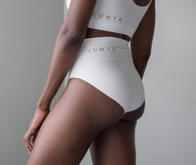 lunya seamless high rise brief-white underwear-idun-saint paul
