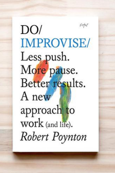 do improvise-do book company-inspirational book-idun-saint paul