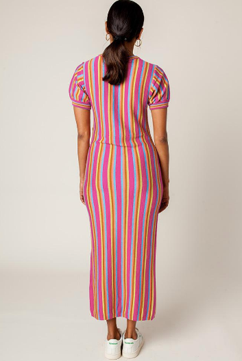 Rachel Antonoff Budde Maxi Dress-Cotton Knit Dress-Summer Dress