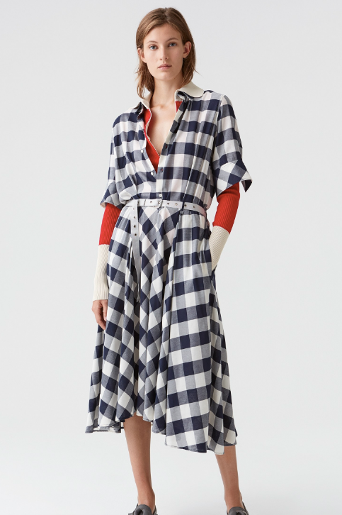 Hope Clock Dress-Shirt Dress