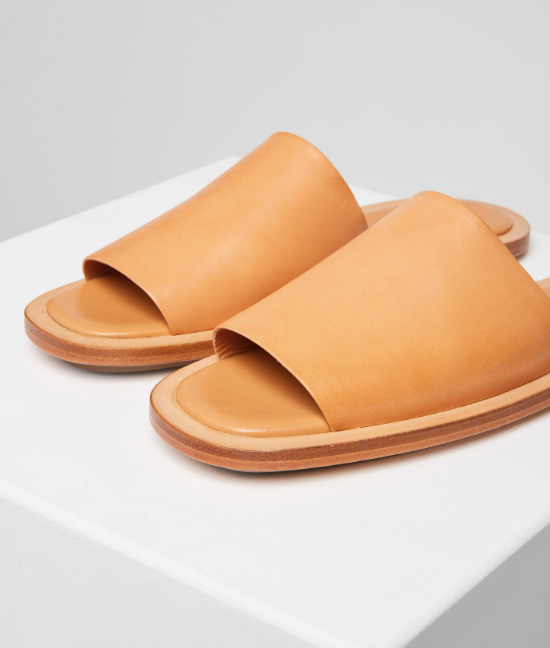 Building Block Issei Slide-Leather Sandals
