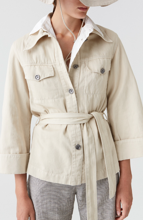 Hope Saint Jacket Creme-Cream Jacket-Wrap Jacket