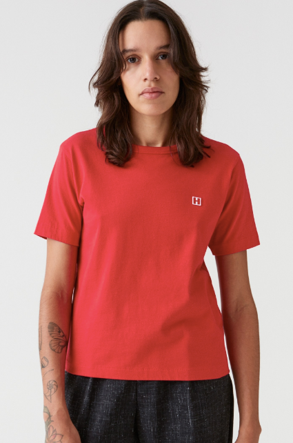 Hope First Tee-Red Tee-Red Top