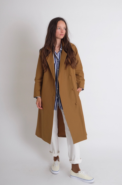 Idun-Saint Paul-Jesse Kamm The Trench-Trench Coat-Classic Trench