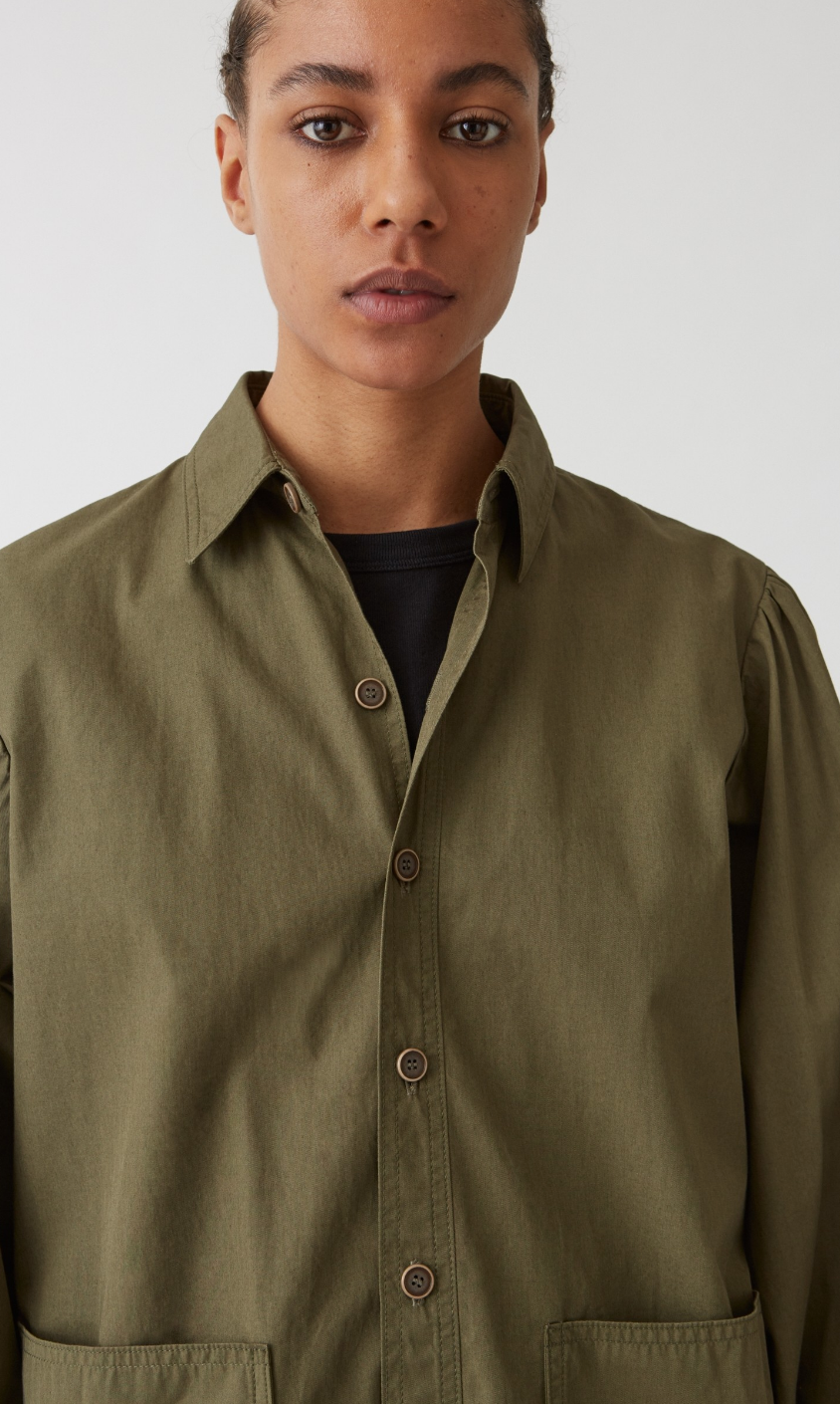 Idun-Saint Paul-Hope Dune Blazer-Khaki Green Jacket-Hope Jacket