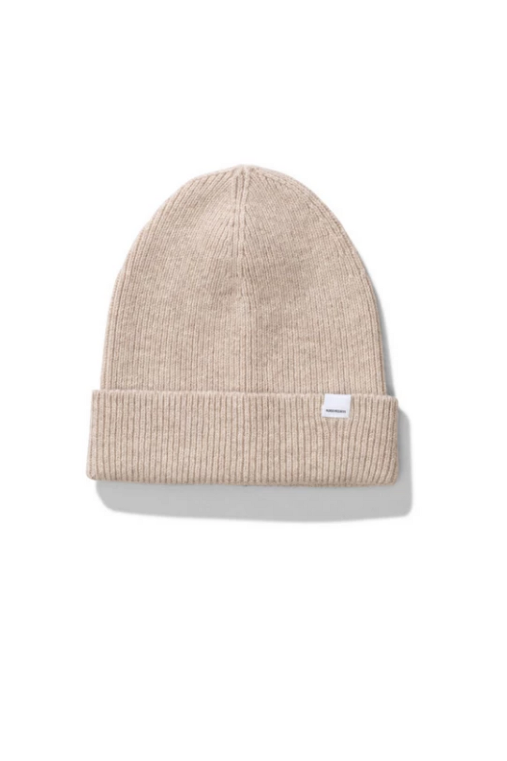 Norse Lambswool Beanie in Oatmeal
