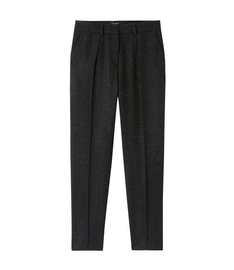 A.P.C.-A.P.C. Sandra pant-black tweed pants-Idun-St. Paul
