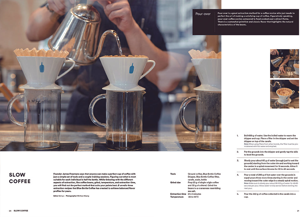 B Magazine: Blue Bottle