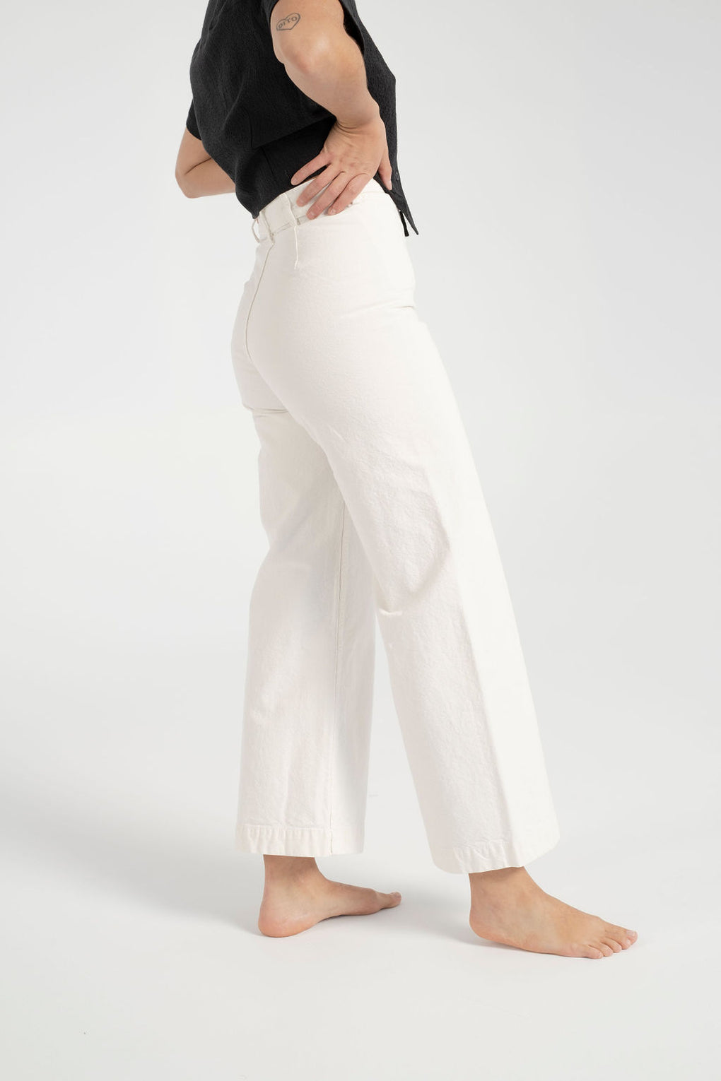 Jesse Kamm-Jesse Kamm sailor pants-Kamm pants-Kamm sailor pants-Salt white sailor pants-white jeans-white sailor pants-Idun-St. Paul