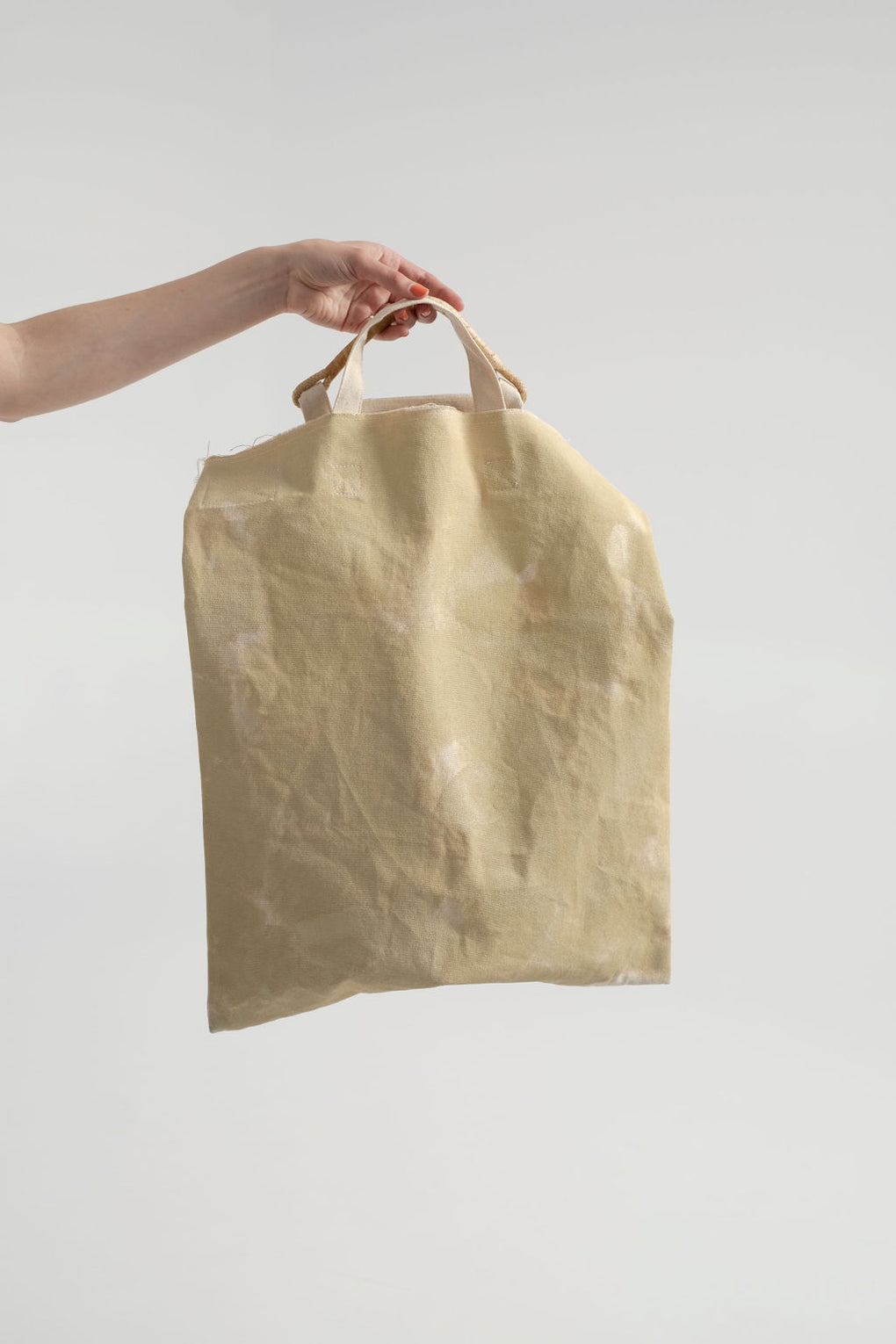 Rachel Comey-Lee Tote-canvas tote-grocery tote-yellow tote-hand painted tote-Idun-St. Paul