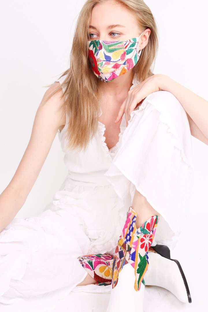 Momo-Give face mask-fashionable face mask-embroidered face mask-Idun-St. Paul