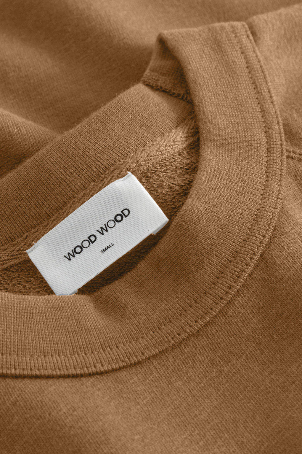 Wood Wood - Hope sweatshirt - Idun - St. Paul - brown sweatshirt