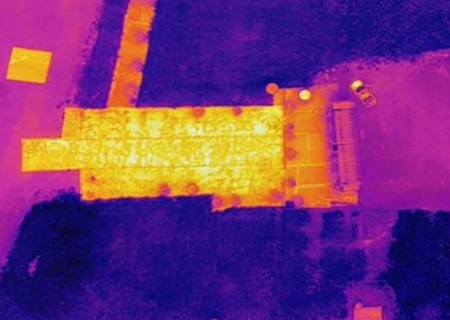 Thermal Mapping - Stitched Images with Photoshop