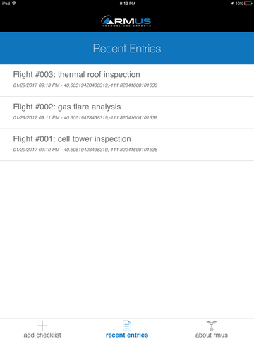 RMUS Part 107 Remote UAV Pilot Checklist App