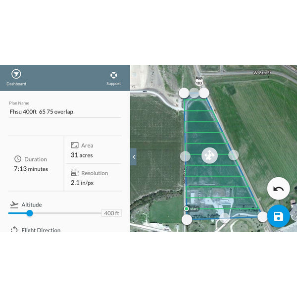 Drone Deploy Aerial Mapping Software (PRO)