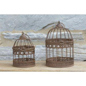 Rustic Vintage Styled Bird Cage at Vivre, Nelson, NZ lovely range of shabby chic and french country cottage homewares and gifts
